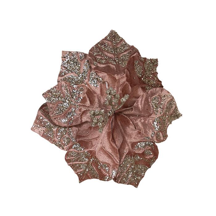 Magnolia Dark Pink Gold Glitter