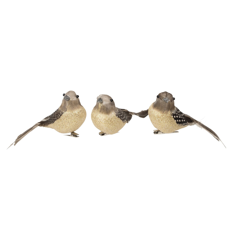 Birds-Feather Grey Natural B