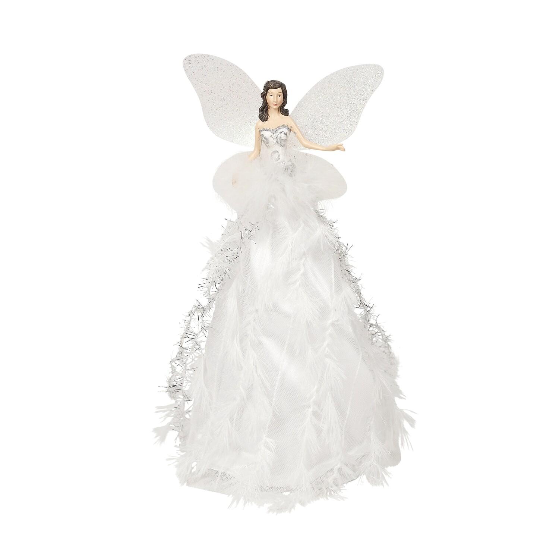 Fairy Tree Topper White/Silver