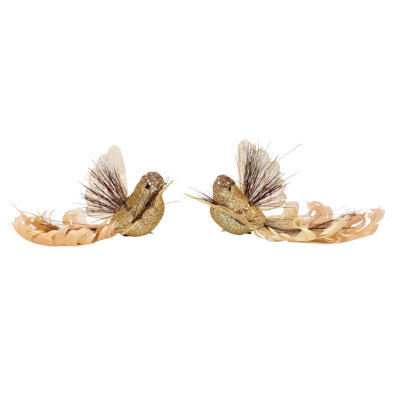 Birds-Tinsel Wing Gold