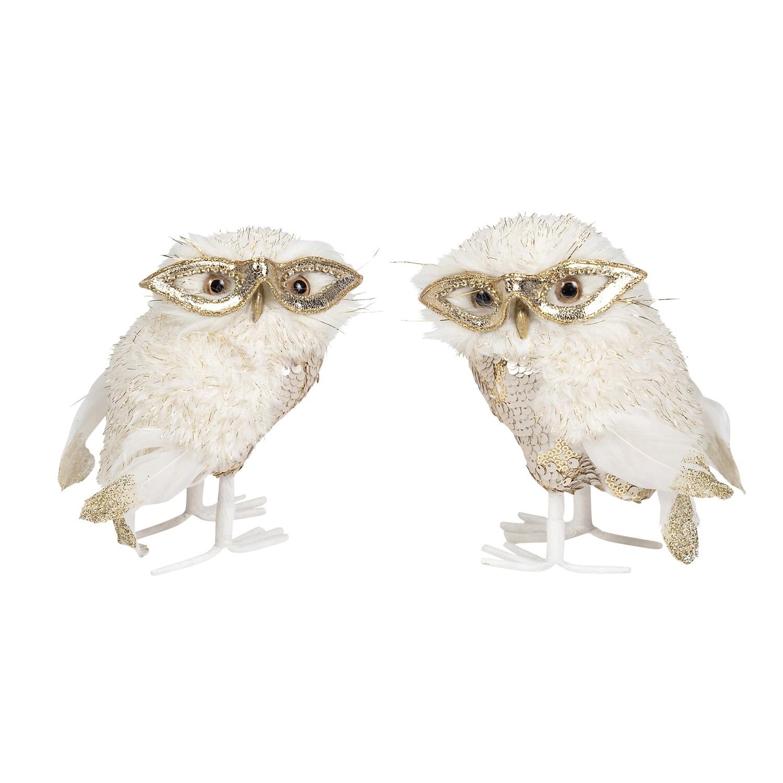 Owls-Cream Gold