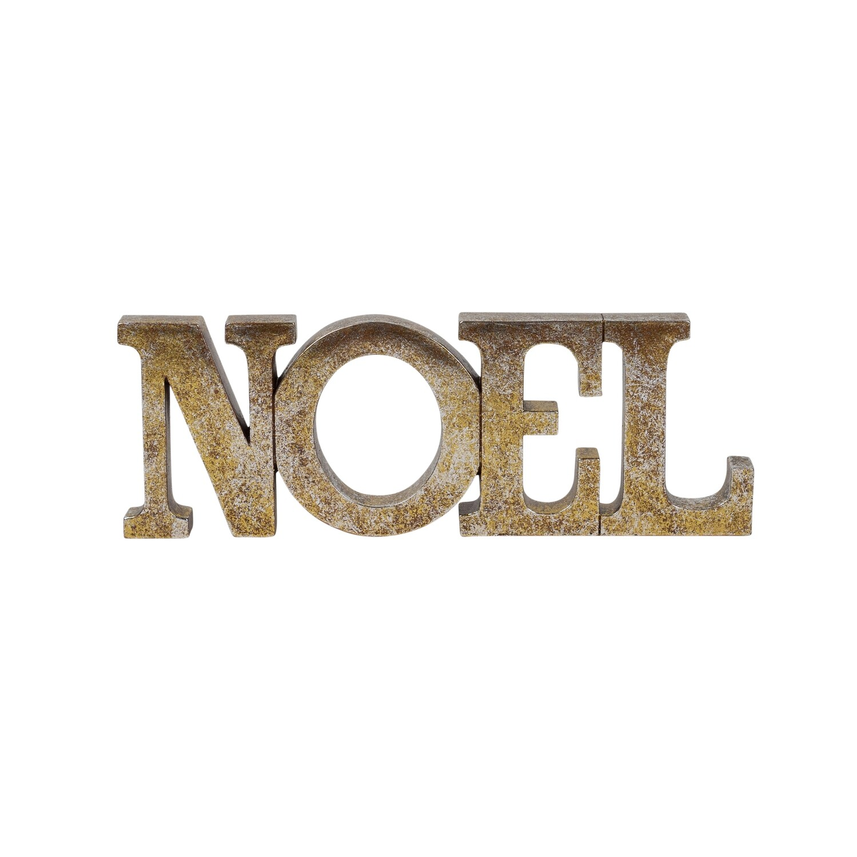 Tablepiece-Noel Gold