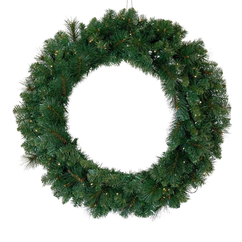 Wreath-Vermont 100 Led 90cm Diameter