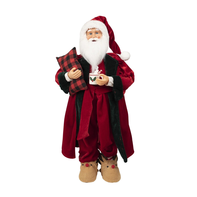 Santa-Red Dressing Gown & Mug
