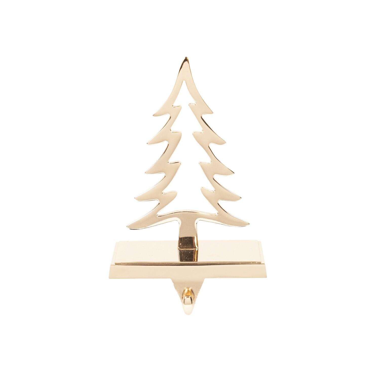Stocking Holder-Tree Copper