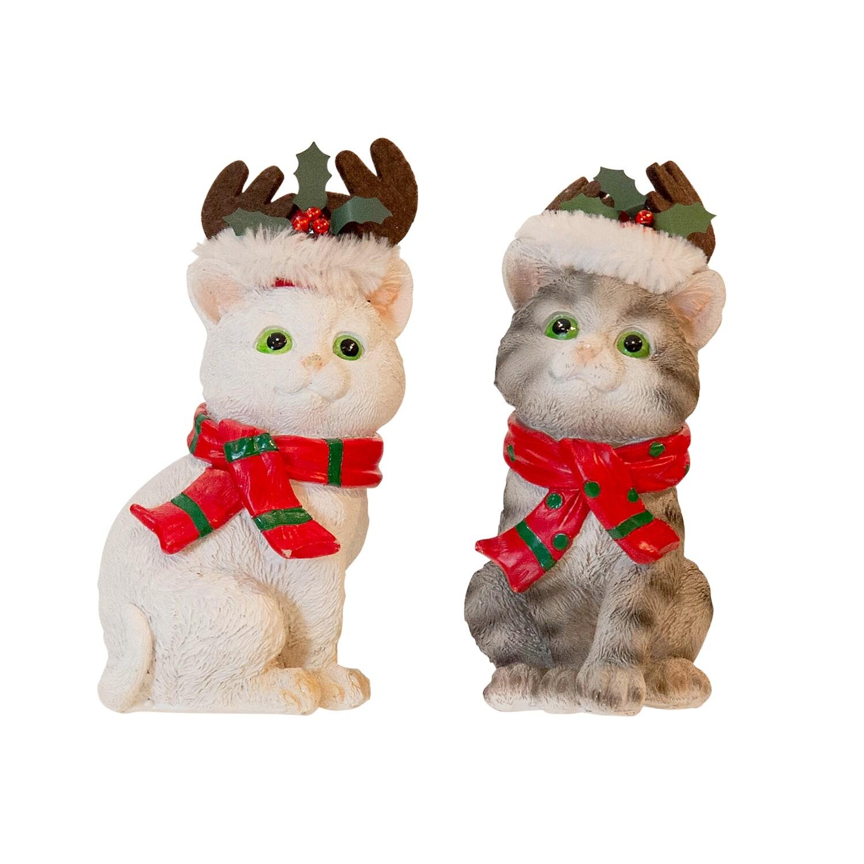 Christmas Pet Cats 2/Set