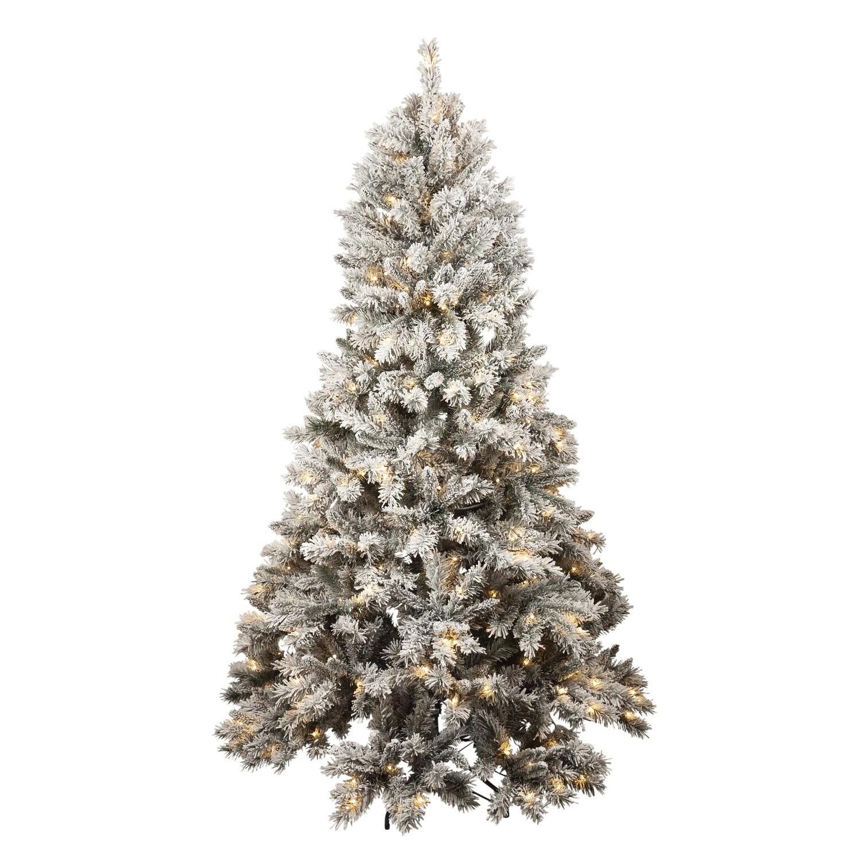 Tree-Thredbo Flocked Tree 370 Led 210cm`
