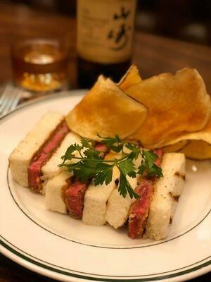 Japanese Style Katsu Sandwich