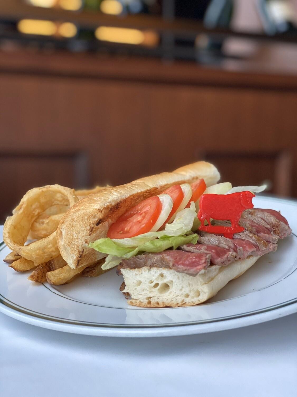 New York Sirloin Steak Sandwich