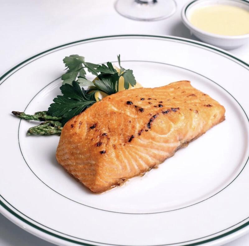Grilled King Salmon