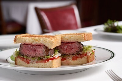 Prime Petite Filet Mignon Sandwich