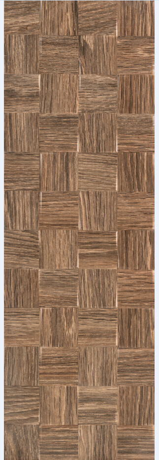 Woodland Brown Square Decor 25Х75