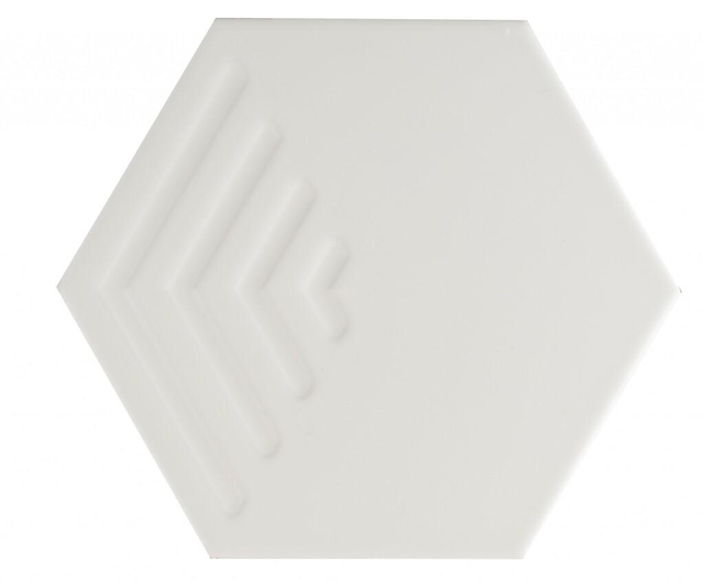 Subway White Corner Structured 20Х23