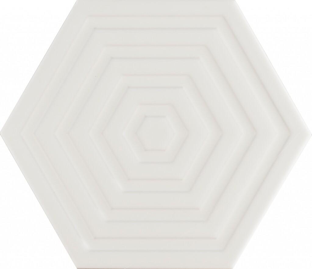 Subway White Hexa Structured 20Х23