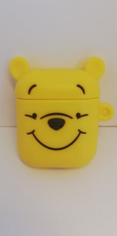 AirPods чехол. Желтый мишка.