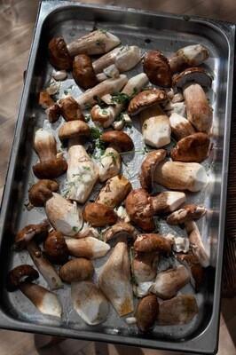 Білі смажені гриби/50г