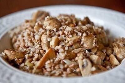 Каша гречана з грибами/600г