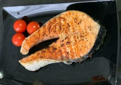 Стейк з лосося маринований, 180г