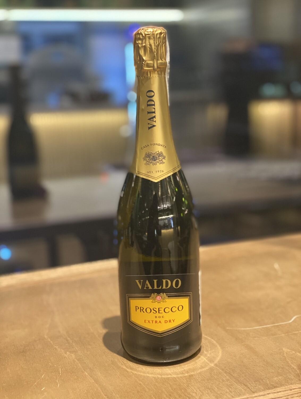Valdo Prosecco Extra dry 750 мл , вино ігристе, біле, сухе
