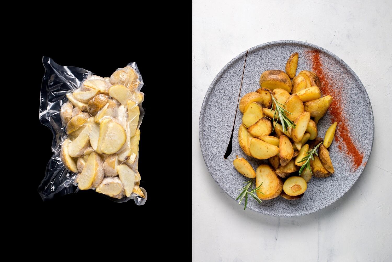 Картопляні скибочки с/м, 500г