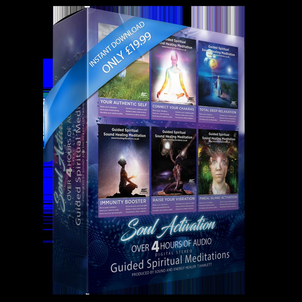 Soul Activation Meditation Pack ( LIMITED LOCKDOWN PRICE )