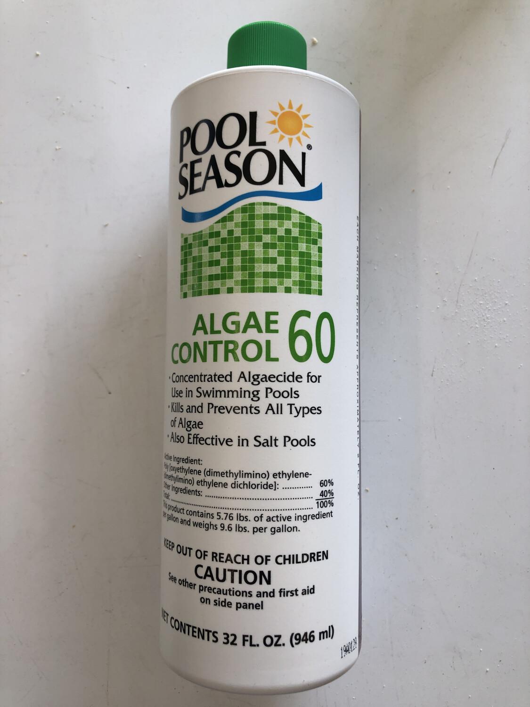 POOL SEASON ALGAE CONTROL 60 1QT