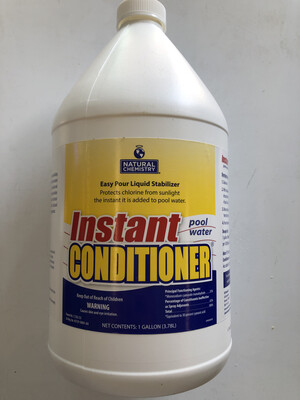 NC POOL CONDITIONER 1 GAL