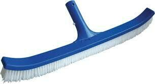POOL STYLE WALL BRUSH STD CURVED PLYBRSTL PS166CB