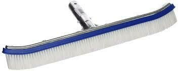 POOL STYLE DELUXE METAL BACK W/PLYBRSTLS PS200 WALL BRUSH