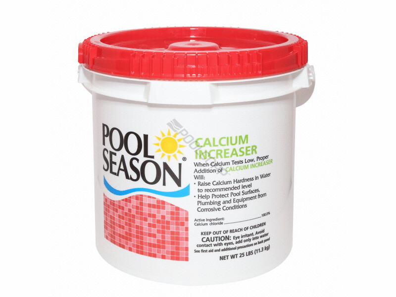 POOL SEASON CALCIUM INCREASE 25LBS
