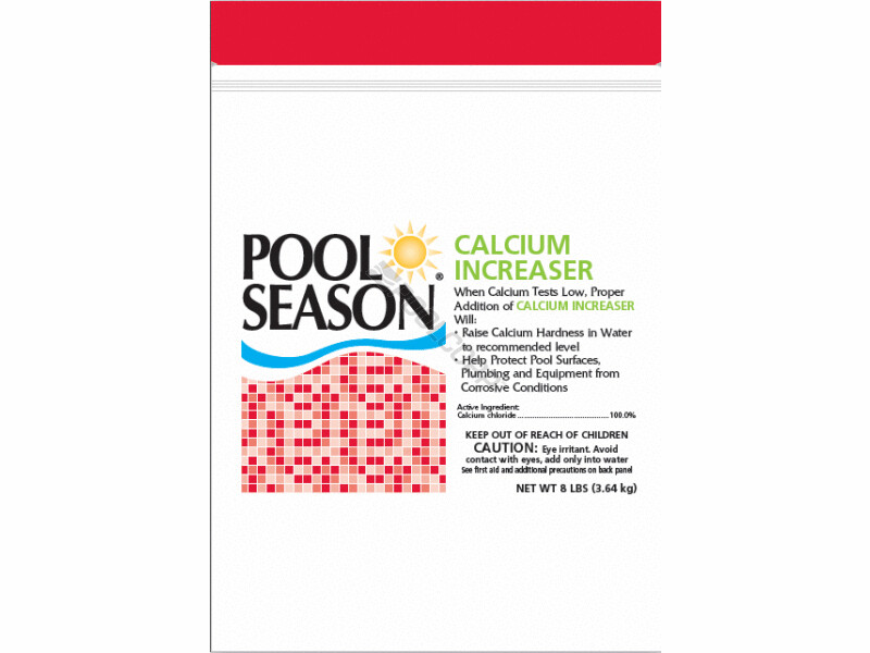 POOL SEASON CALCIUM INCREASE 8LBS POUCH