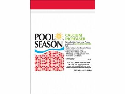 POOL SEASON CALCIUM INCREASE 8LBS POUCH
