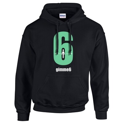 gimme6feet Adult Heavy Blend Hooded Sweatshirt