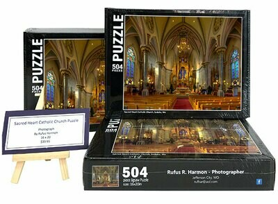 Sacred Heart Church, Sedalia, MO - Puzzle