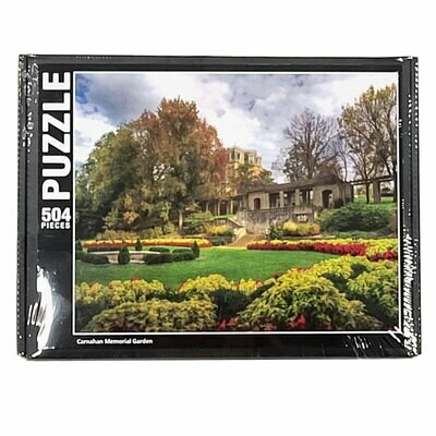 MO Governor's Mansion from Carnahan Memorial Garden - Puzzle