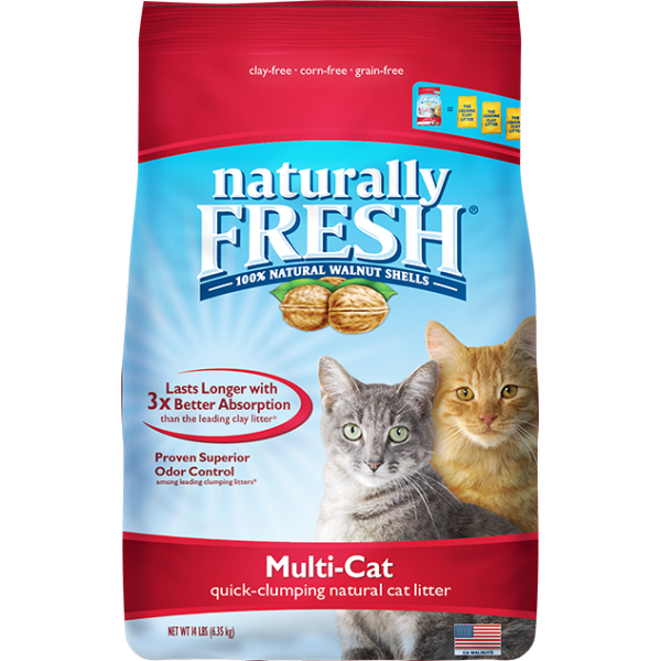 NF MULTI-CAT NATURAL LITTER 14LB.