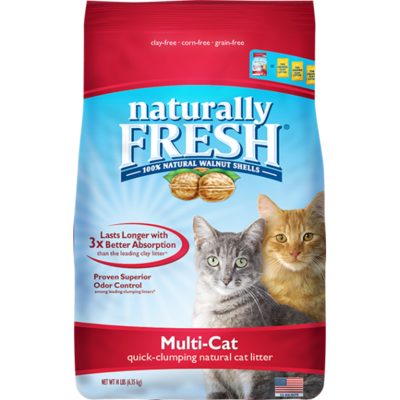 NF MULTI-CAT NATURAL LITTER 14LB.