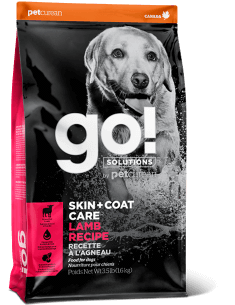 GO! SKIN & COAT LAMB DOG  3.5LB.