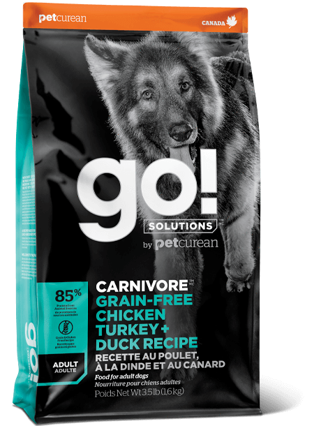 GO! DOG CHKN/TURKEY/DUCK ADULT