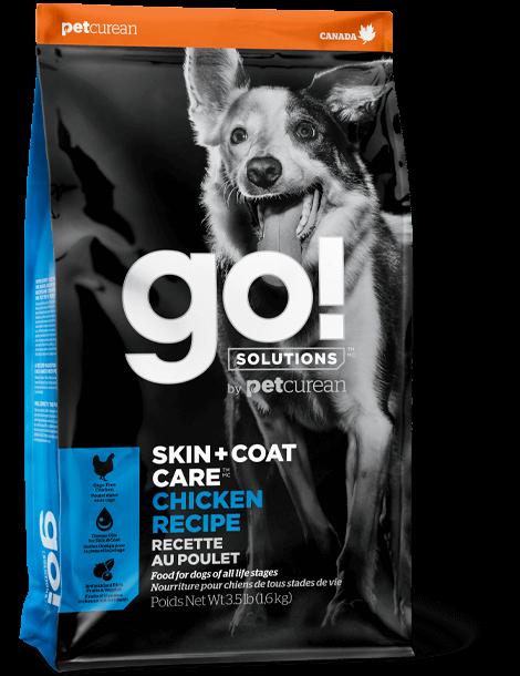 GO! SKIN & COAT CKN DOG  25LB.