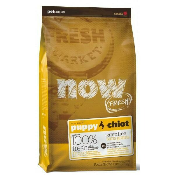 NOW! FRESH GRAIN FREE PUPPY 6LBS