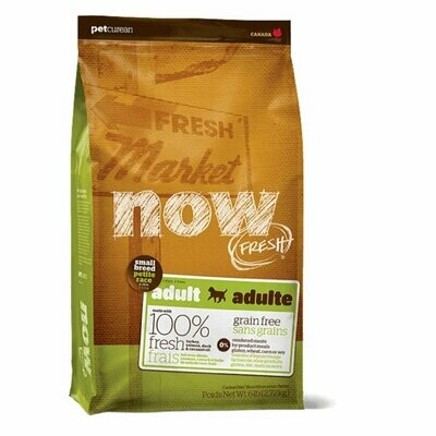 NOW!GRAIN FREE SMALL BREED DOG 12LBS.