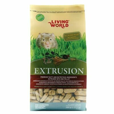 LW EXTRUSION HAMSTER FOOD 680G.