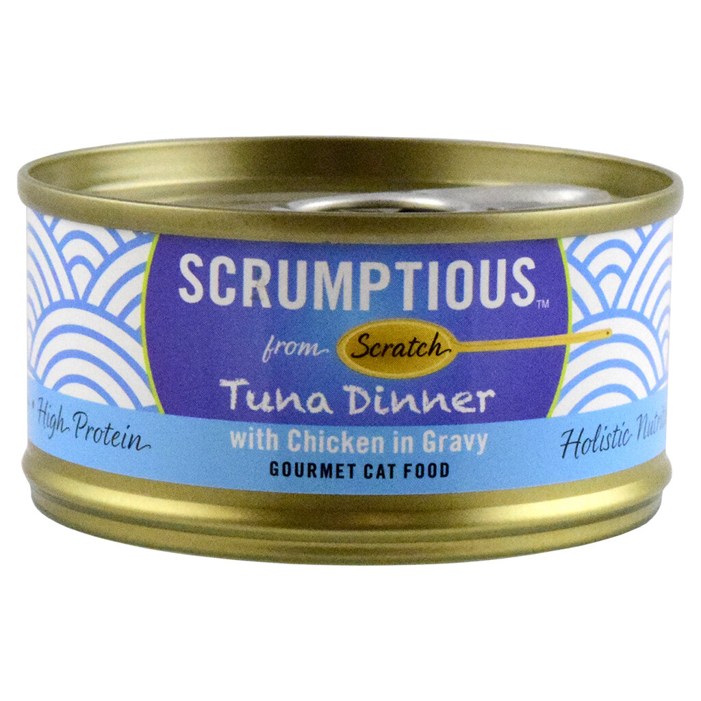 SCRUMPTIOUS TUNA RED MEAT CKN 2.8OZ.