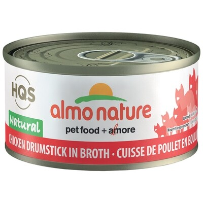ALMO NATURE CKN/DRUMSTICK 70GM.