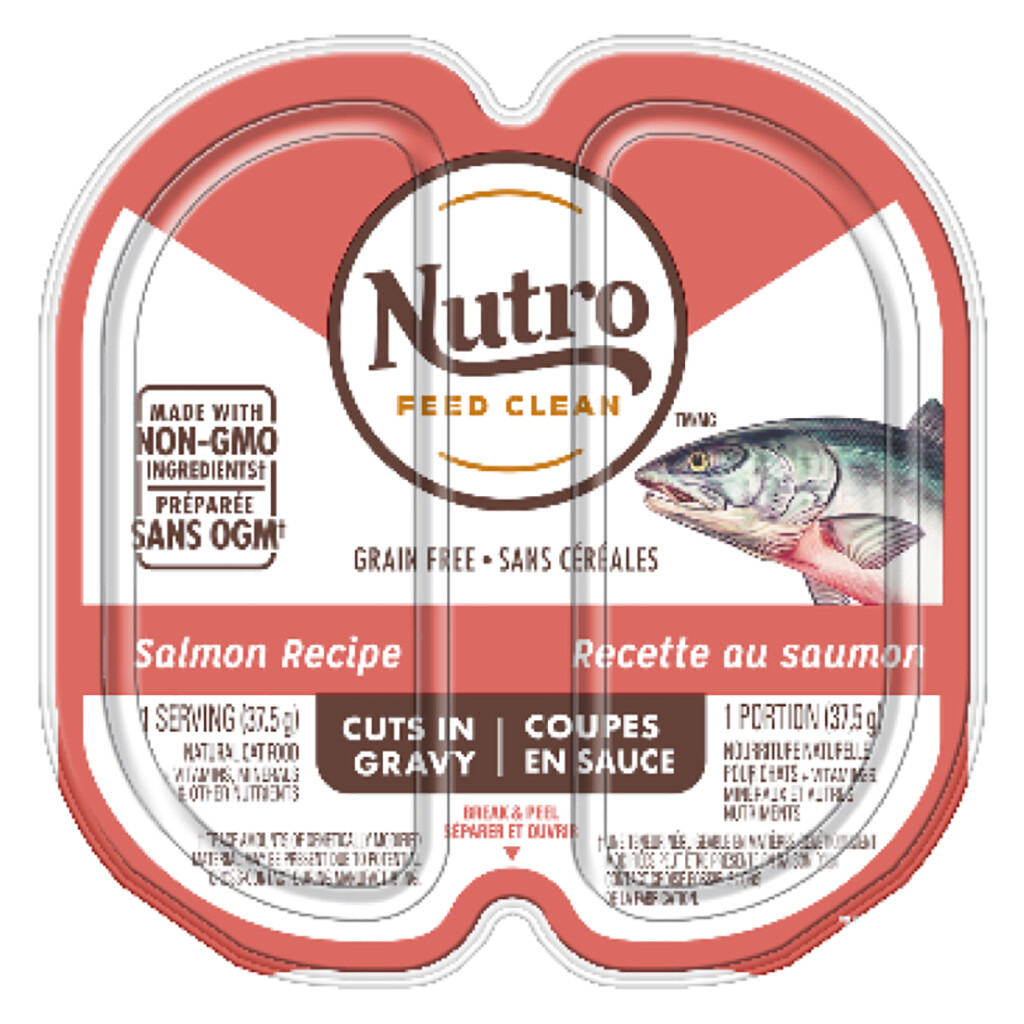 NUTRO CAT P.P SALMON GRAVY 2.65OZ.