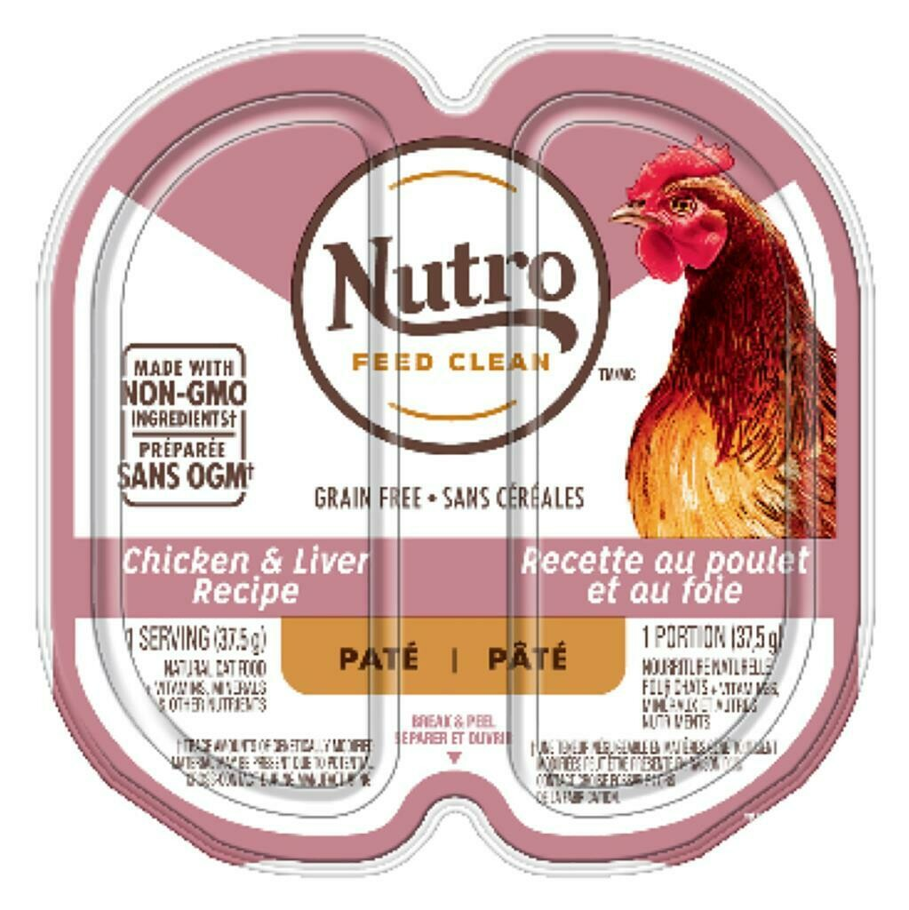 NUTRO CAT P.P CHICKEN & LIVER PATE 2.65OZ.