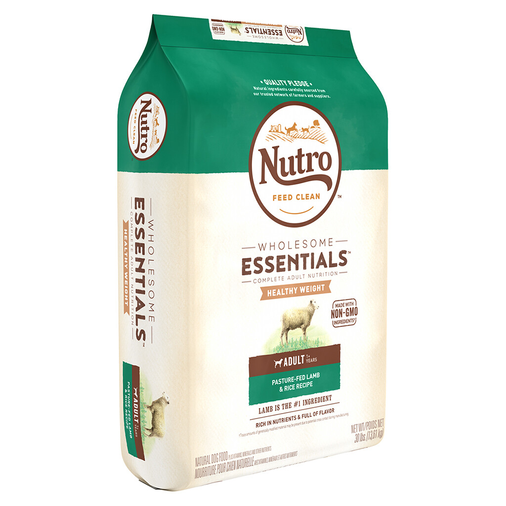 NUTRO DOG LAMB & RICE HEALTHY WEIGHT 13.6KG.