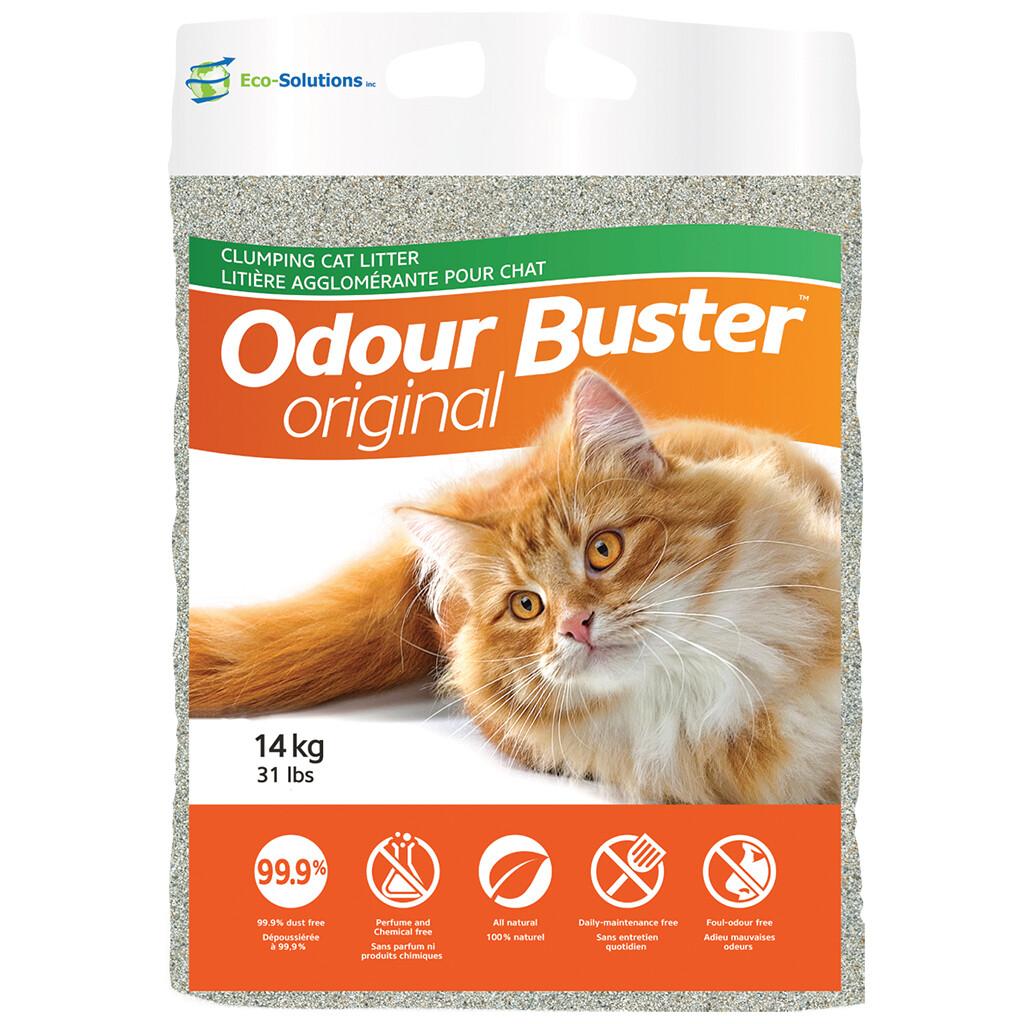 ODOUR BUSTER CLUMPING CAT LITTER 14KG