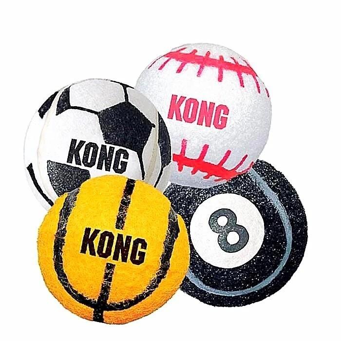KONG SPORT BALLS 3PK-XS